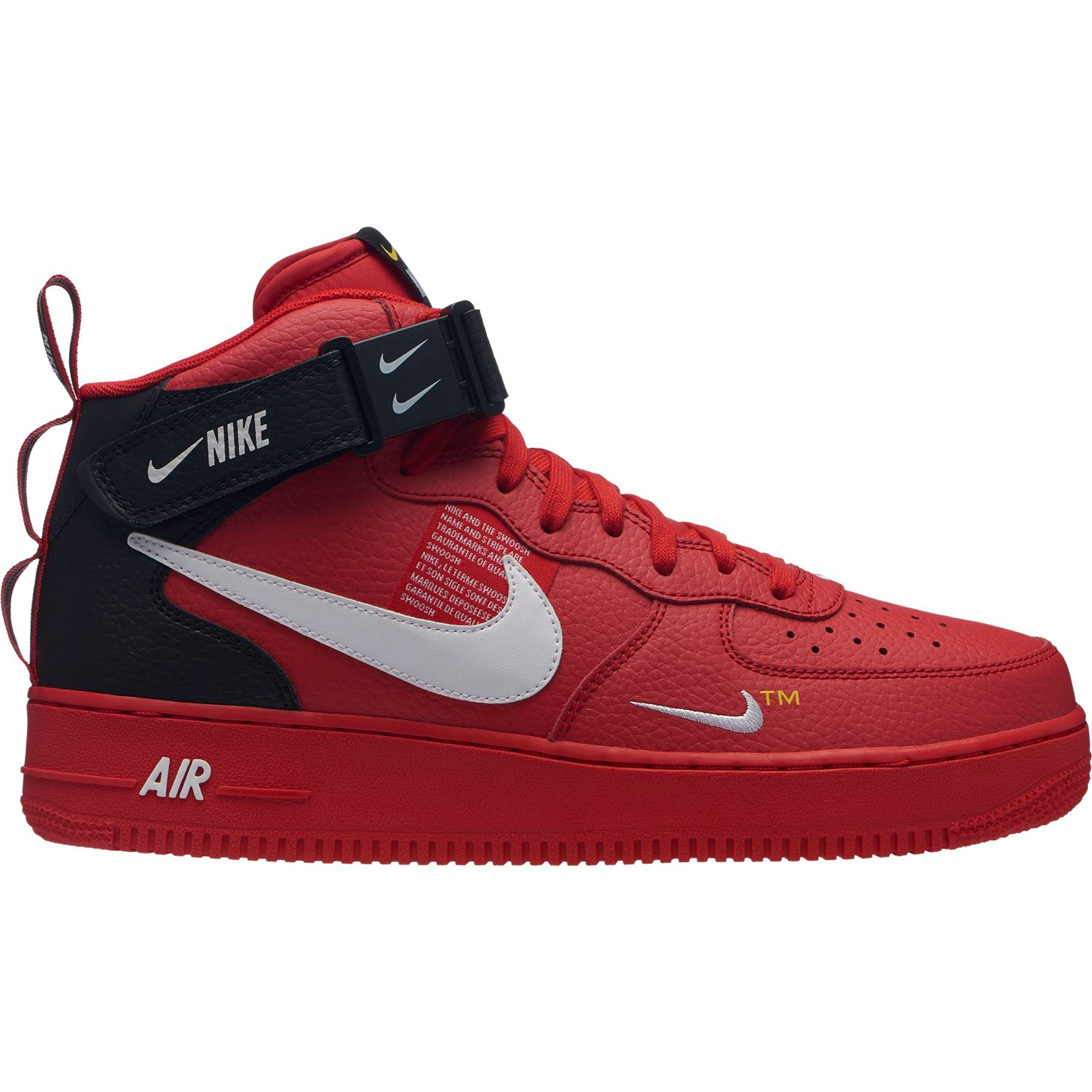 nike air force 1 rot